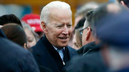 united states, joe biden, donald trump, us, former vice president, us elections, us presidential election, bernie sanders, democrats, republicans, white house, world news, indian express news