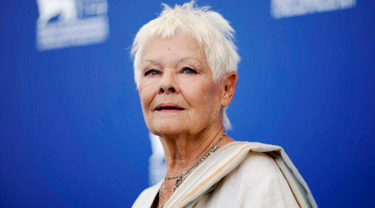 Judi Dench in victoria and abdul promotions