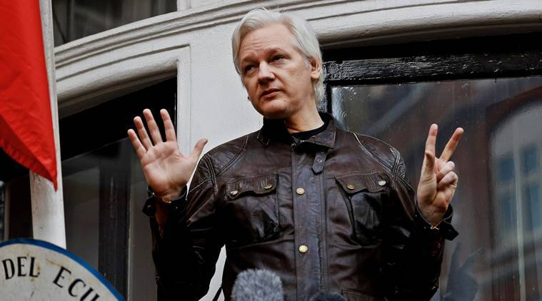 Out of the embassy, straight into custody: Julian Assange's court hearing