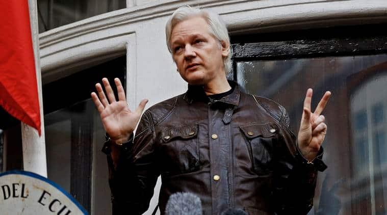 Julian Assange, WikiLeaks founder, Julian Assange WikiLeaks, Julian Assange espionage case, espionage case on Julian Assange, World news, Indian Express