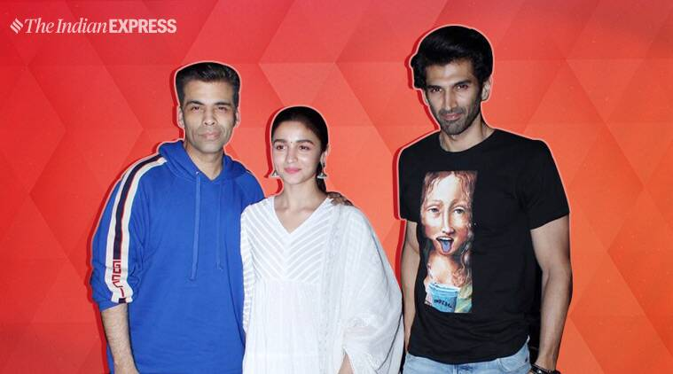 Kalank special screening: Alia Bhatt, Karan Johar, Aditya Roy Kapur and more; who wore what