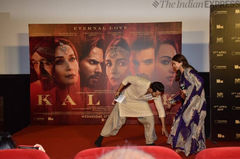 kalank with varun dhawan and alia bhatt