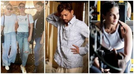 Kareena Kapoor, Irrfan Khan, Sunny Leone social media photos
