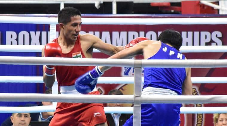 Kavinder Bisht Stuns World Champ Kairat Yeraliyev To Enter Asian C'ship Semis