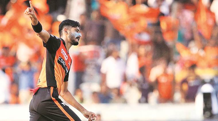 ipl 2019, srh vs kkr, srh vs kkr result, Jonny Bairstow, david warner, srh vs kkr report, khaleel ahmed, warner, bairstow, indian express news