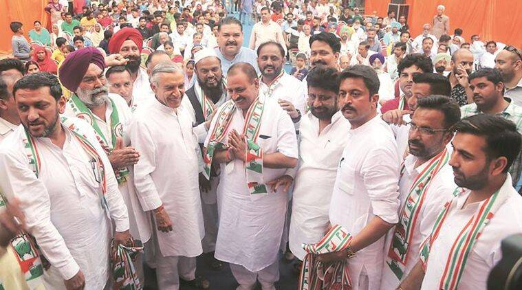 Congress welcomes members of Khatik community into party fold