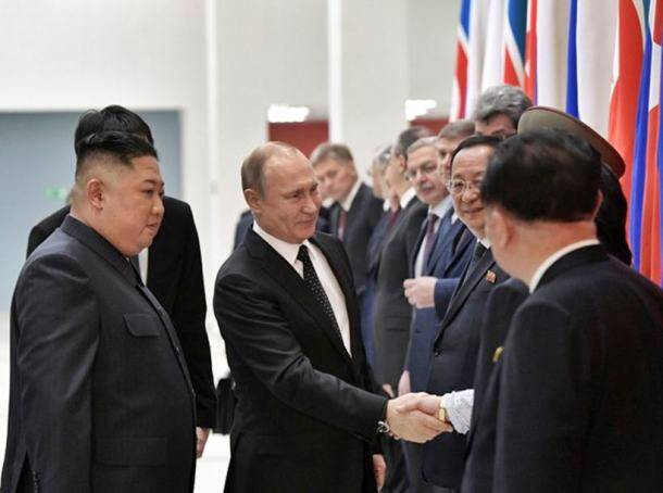 kim jong un in russia, kim jong summit with putin, russia president, vladimir putin, north korea, kim jong un russia photos, world news, indian express