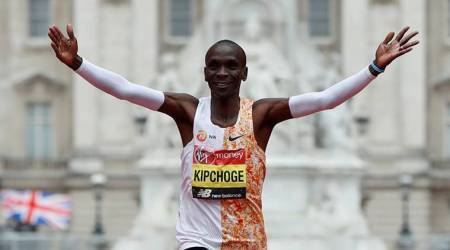 world athletics, kenya's eliud kipchoge, nike shoes, shoe companies, soles of spiked shoes, sports news, indian express