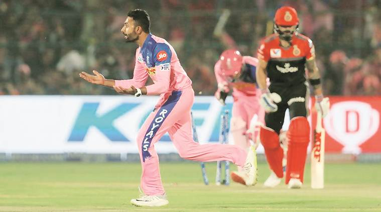 rr vs rcb, rajasthan royals vs royal challengers bangalore, ipl 2019, rr vs rcb ipl, rr vs rcb ipl 2019, cricket news, sports news, indian express