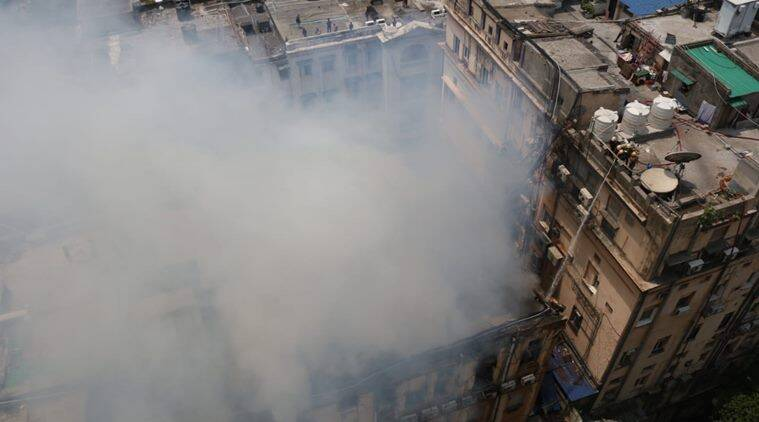 Fire near Kolkata's Exide crossing disrupts traffic; part of building collapses
