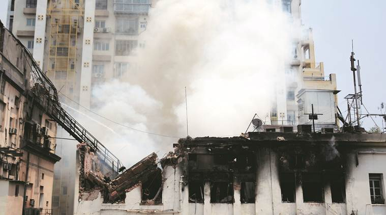 'Short-circuit' leads to fire in Kolkata building, none injured