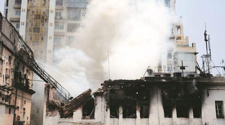 Kolkata fire, Kolkata building fire, building fire Kolkata, Kolkata news,