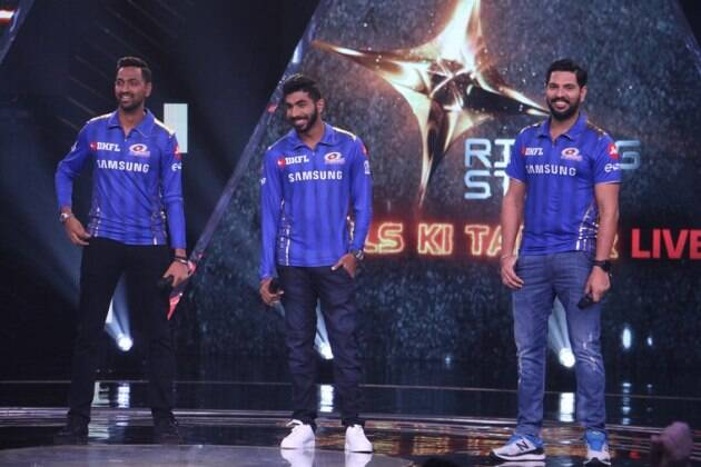 Rising Star 3 Mumbai Indians Team Shankar Mahadevan Diljit Dosanjh Neeti Mohan