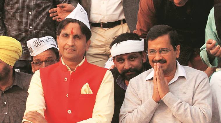 lok sabha elections, aap candidates for lok sabha elections, Kumar Vishwas, manoj tiwari, atishi, delhi news, election news