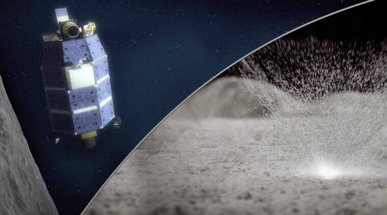 Meteoroid strikes eject precious water from Moon: NASA