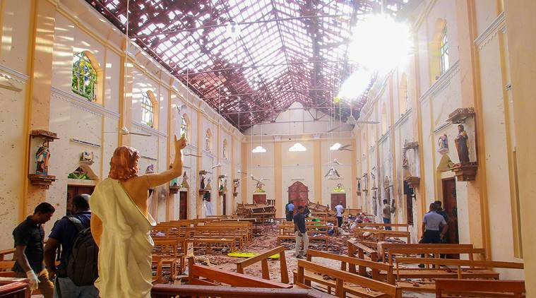 sri lanka blasts, sri lanka bomb blasts, sri lanka church blasts, sri lanka hotel blasts, colombo, united states, us state department, terrorists, terrorist attacks, world news, indian express news