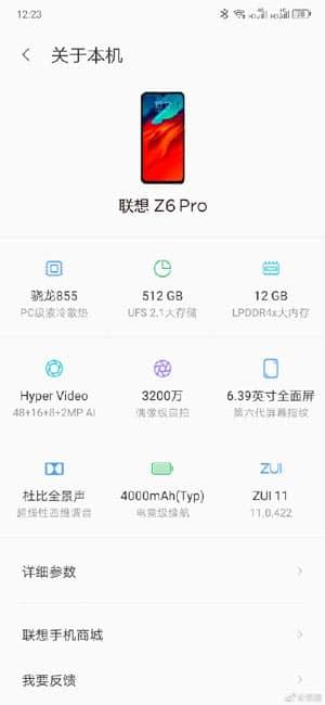 Lenovo, Lenovo Z6 Pro, Lenovo Z6 Pro specifications, Lenovo Z6 Pro features, Lenovo Z6 Pro price, Lenovo Z6 Pro launch date, Lenovo Z6 Pro sale, Lenovo Z6 Pro specs, Lenovo Z6 Pro camera