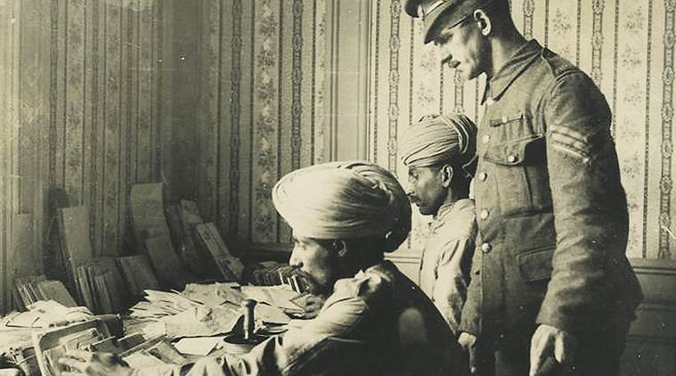 india, soldiers, soldiers in india, indian soldiers, war, world war 1, exhibition, medals & bullets, mumbai, mumbai exhibition, jehangir art gallery, art gallery, angeli sowani, paintings, british, british museum, london, letters, postcards, hindi, english, urdu, imperial war library, art, culture, art and culture, indian express news