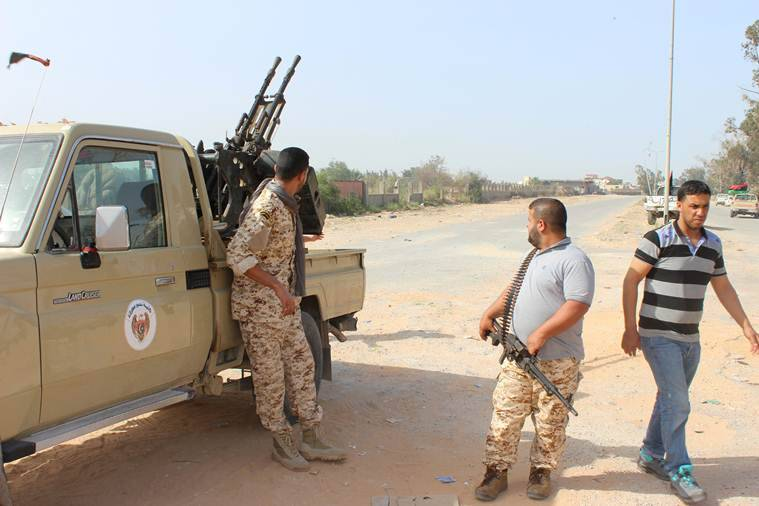 libyan capital, explosions in Tripoli, explosions in libya, Libyan National Army, libyan government, world news