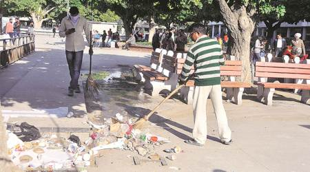 Ahead of Swachh Survekshan survey, Chandigarh gets 75 new twin bin hoppers