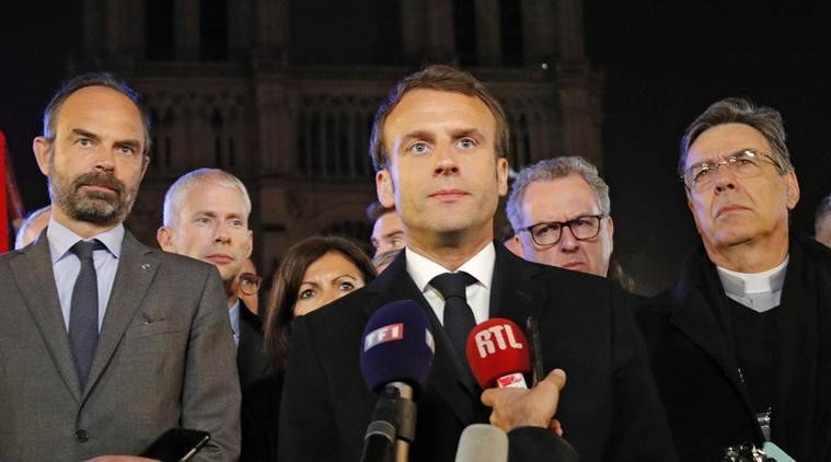 Protests abating, Macron sends PM to map out an exit from reform 'death valley'