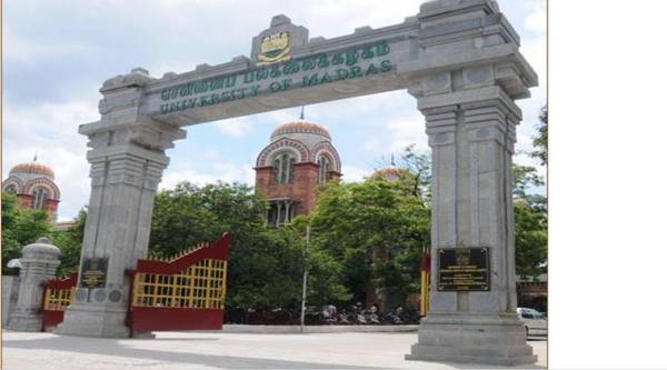 Madras University,madras university admission,madras university 2019,madras university admission 2019