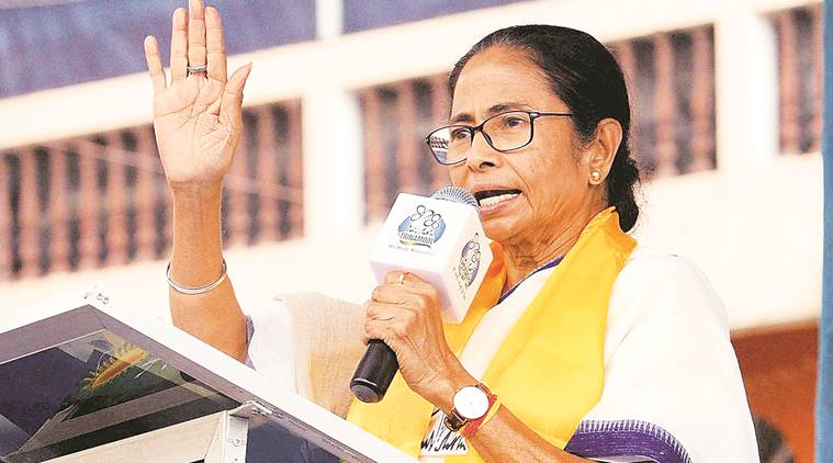 Mamata Banerjee, Mamata Banerjee on congress, Mamata Banerjee bjp, rss, congress rss, bjp rss, bengal bjp, west bengal, west bengal elections, Trinamool Congress, election news, elections 2019, lok sabha elections 2019, lok sabha elections