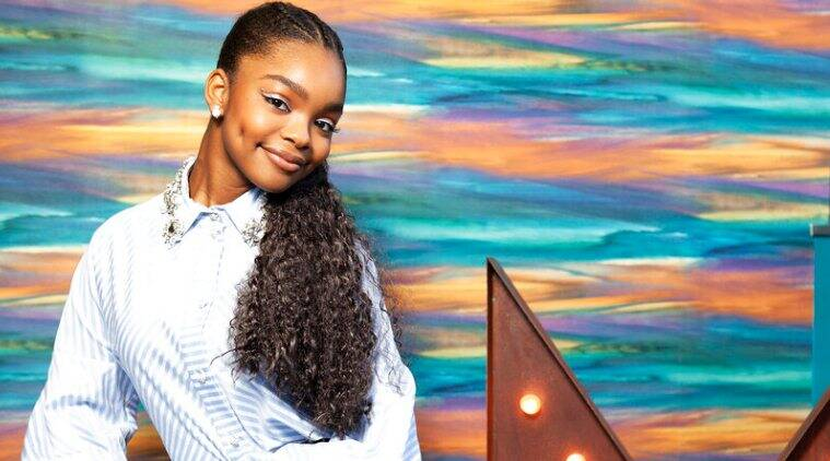 Marsai Martin has executive produced her first film, Little, which arrives in theaters nationwide Friday