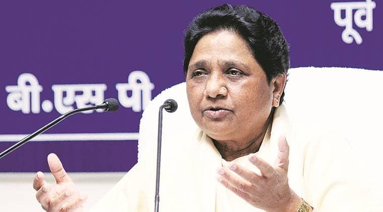 mayawati, bsp, bahujan samaj party, mayawati bsp, bsp mayawati, bjp, religious slogans, india news, Indian Express