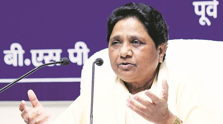 BJP trying to dislodge governments in opposition-ruled states: Mayawati
