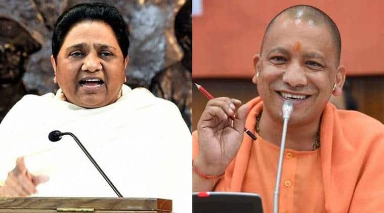lok sabha elections, Mayawati speech, Mayawati speech in Saharanpur, Yogi adityanath, modiji ki sena remark, niti ayog, ec model code of conduct, election commission, model code of conduct violation, lok sabha elections, lok sabha polls, indian express