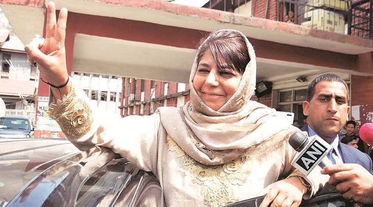 jammu and kashmir, article 370, jammu kashmir special status, mehbooba mufti, pdp, pdp president, bjp, bjp manifesto, lok sabha elections 2019, lok sabha polls, peoples democratic party, jammu kashmir news, indian express news