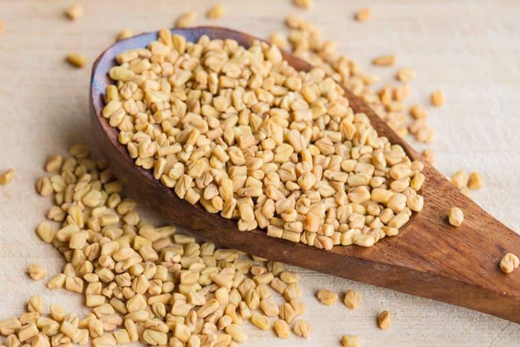 methi, fenugreek seeds, insulin, diabetes, indian express