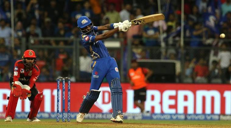 ipl 2019, ipl, mi vs rcb, hardik pandya, virat kohli, cricket news, indian express