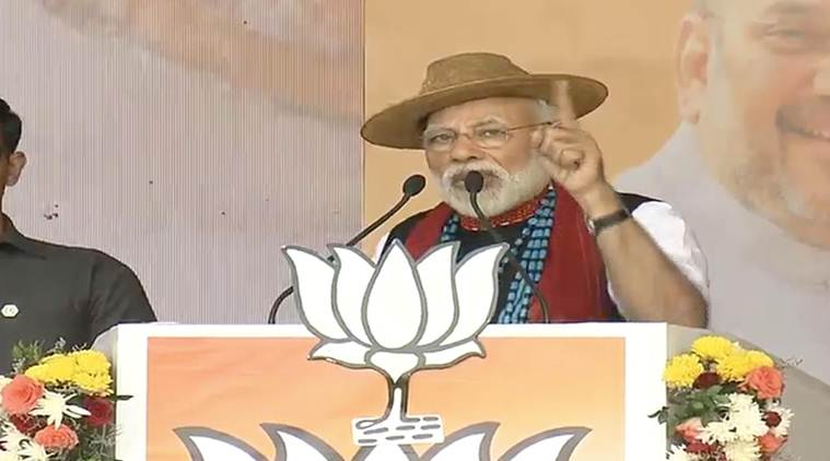 Lok Sabha election news LIVE: Congress' manifesto should be called 'dhakosla patra', says PM Modi at Pasighat