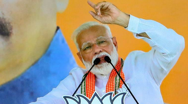 PM Chopper search, PM Modi chopper, IAS officer suspended, PM Modi odisha, Elections commission, lok sabha elections, general elections, election news, decision 2019, lok sabha elections 2019, indian express