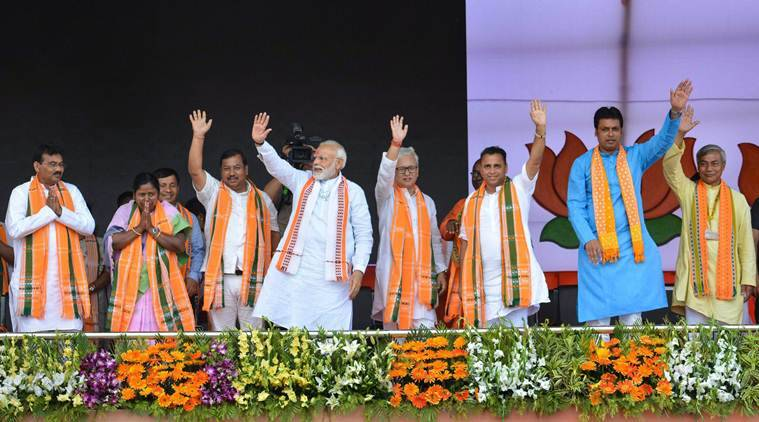 Congress has no concern for the people of Northeast: PM Modi
