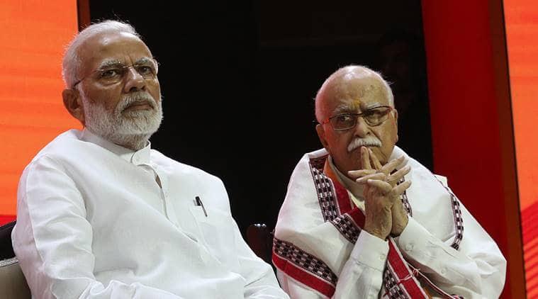 narendra modi, lk advani, advani blog, modi advani, bjp foundation day, anti national, amit shah, gandhinagar, lok sabha elections, indian express