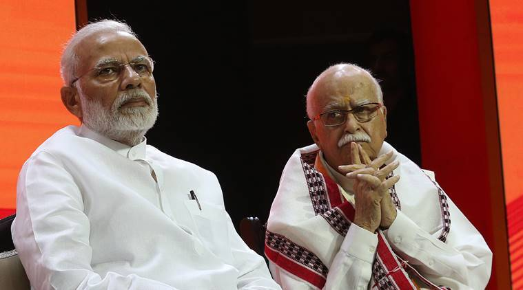 narendra modi, lk advani, advani blog, modi advani, bjp foundation day, anti national, amit shah, gandhinagar, lok sabha elections, indian express