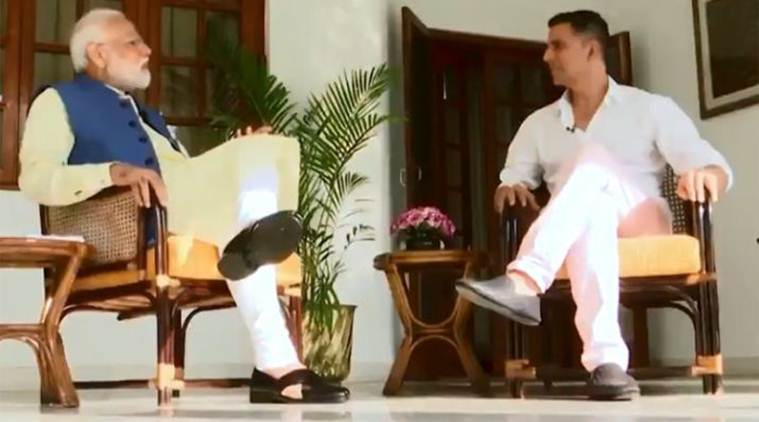 Cong on PM's chat with Akshay : 'Failed politician' looking for alternative job in Bollywood