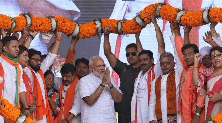 Modi takes election fight to West Bengal