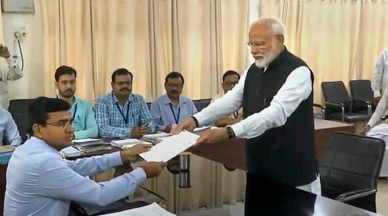A Day After Modi's Show Of Strength In Mega Roadshow, Pm Files Nomination From Varanasi