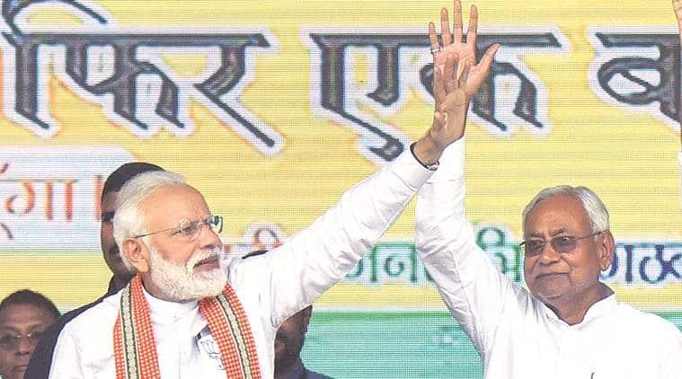 Nitish kUmar jdu bjp alliance, bihar assembly polls, Bihar assembly elections, indian express