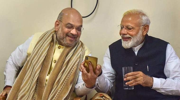 NARENDRA MODI, PM MODI, AMIT SHAH, model code of conduct, election news, lok sabha elections, lok sabha elections 2019, indian express