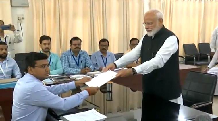 Narendra Modi, Modi varanasi nomination, Modi nomination, Modi Varanasi road show, Prakash singh badal, Lok Sabha elections 2019, Decision 2019, election news