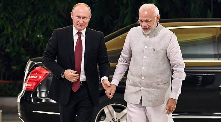 Russia's highest state honour for PM Modi