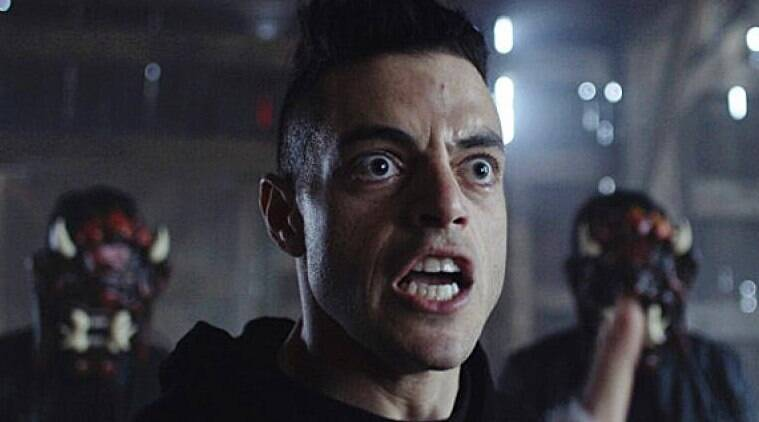 Mr Robot features Rami Malek in the lead role