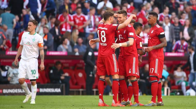 Bayern Munich extend lead in Bundesliga to four points
