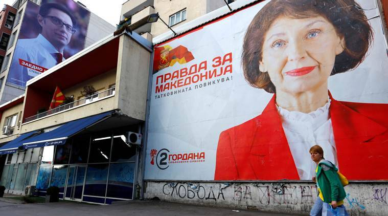 Macedonians Vote In Election Dominated By Splits Over Name Change