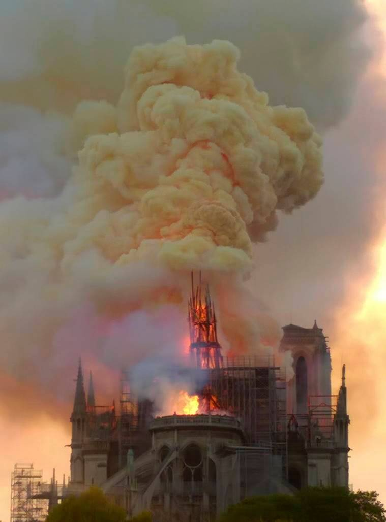 Explained: How Notre Dame's age, design fueled fire and foiled firefighters